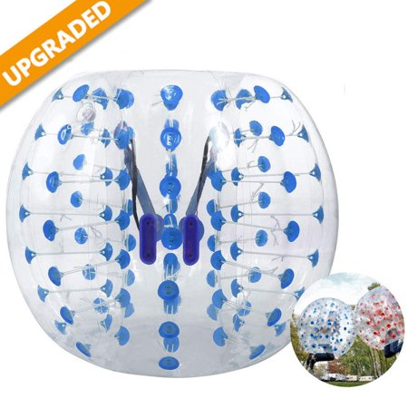 Inflatable Bumper Ball 1.5M/5ft Diameter Bubble Soccer Ball Blow Up Toy in 5 Min Inflatable Bumper Bubble Balls Adults Child](Large Blow Up Ball)
