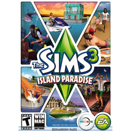 Electronic Arts Sims 3 Island Paradise Limited, EA, PC Software,