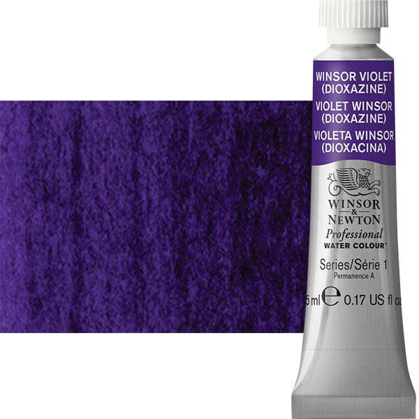 Winsor & Newton - Professional Watercolor - 5ml Tube - Winsor Violet Dioxazine