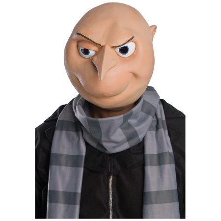 Adult Despicable Me Gru Mask - Gru And Minion Costumes