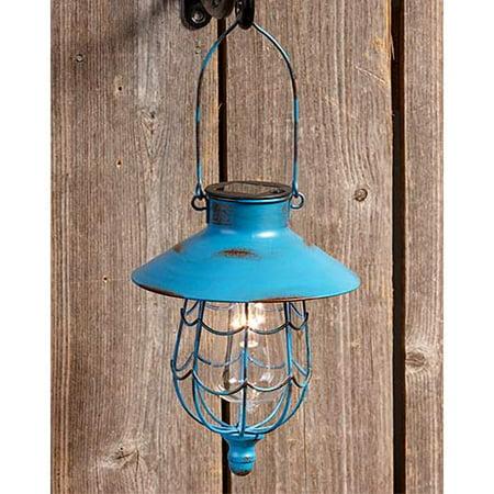 The Lakeside Collection Hanging Solar Lantern Soji Solar Lantern