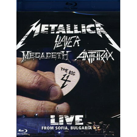 Metallica/Slayer/Megadeth/Anthrax: The Big 4, Live from Sofia, Bulgaria (Blu-ray)