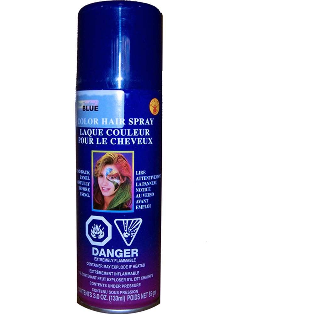 Blue Temporary Spray In Hair Color