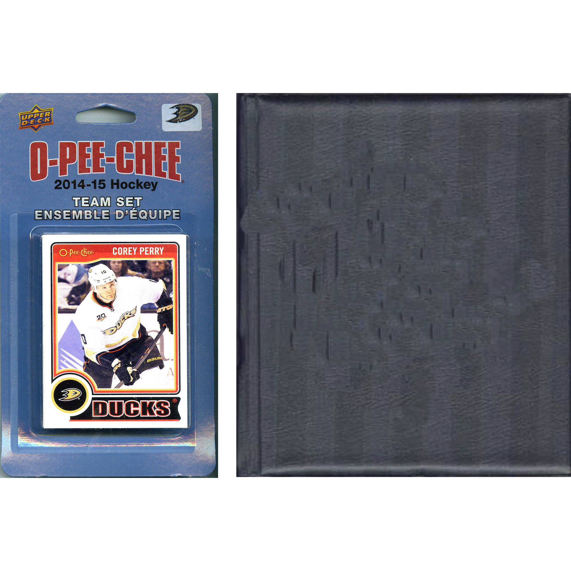 C&I Collectables NHL Anaheim Ducks 2014 O-Pee-Chee Team Set and Storage Album and Storage Album