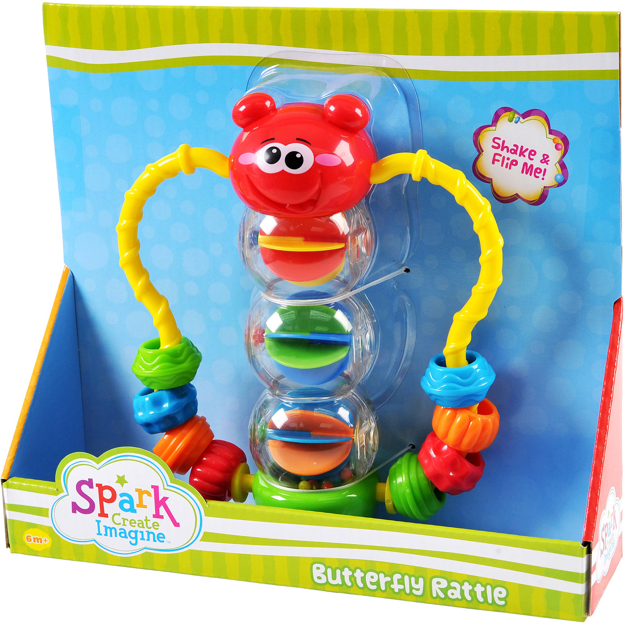 Spark Create Imagine Butterfly Rattle
