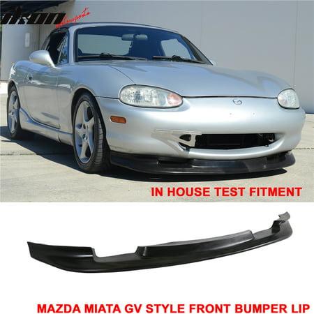 Dtm Spoiler (Fits 99-00 Mazda Miata MX-5 GV Style Coupe Front Bumper Lip DAM Spoiler)