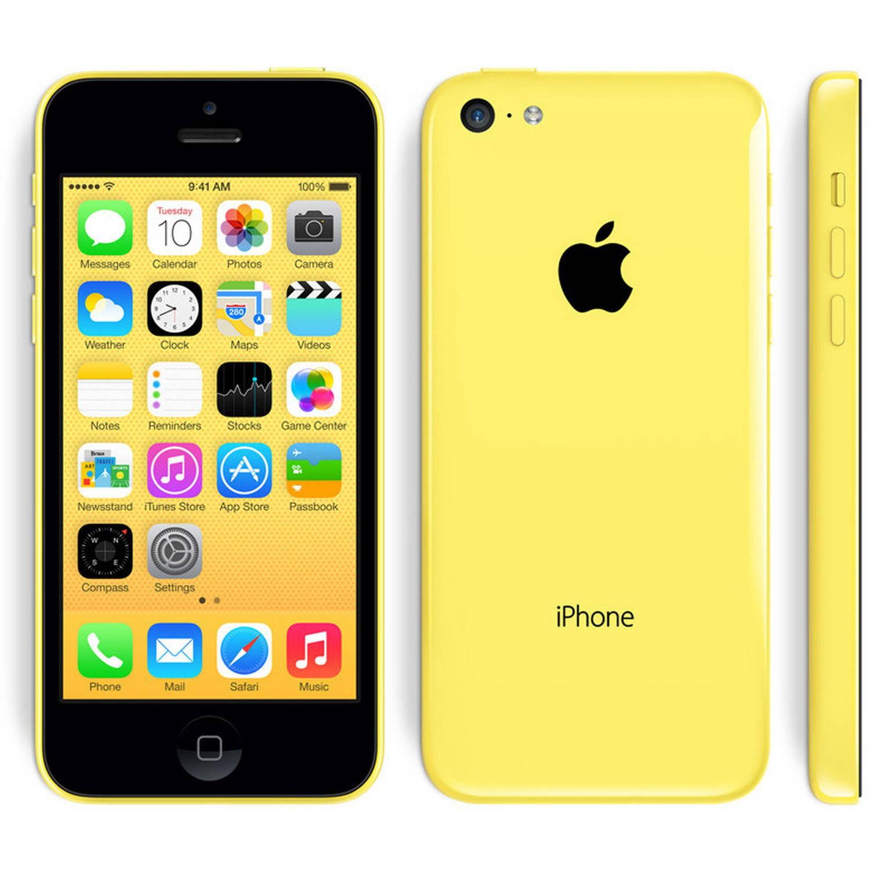Apple Iphone 5C 8GB Verizon/GSM Phone Yellow - Certified