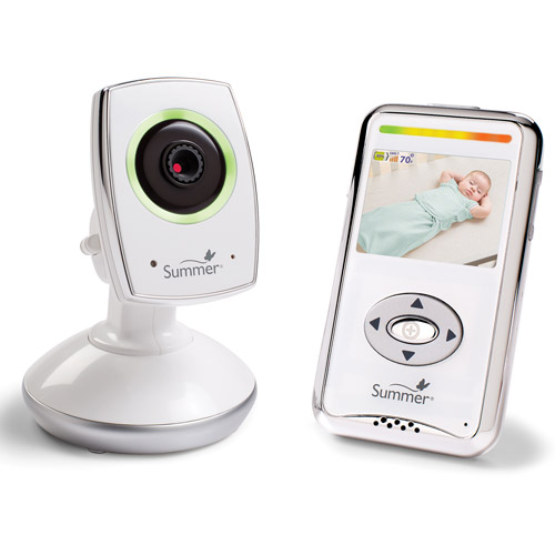 Summer Infant Baby Zoom WiFi Video Monitor and Internet Viewing System, 28630