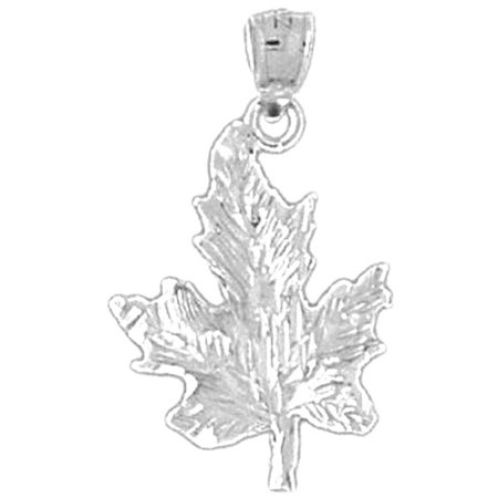 18k white gold maple leaf pendant 27 mm walmart 18k white gold maple leaf pendant 27 mm aloadofball Images