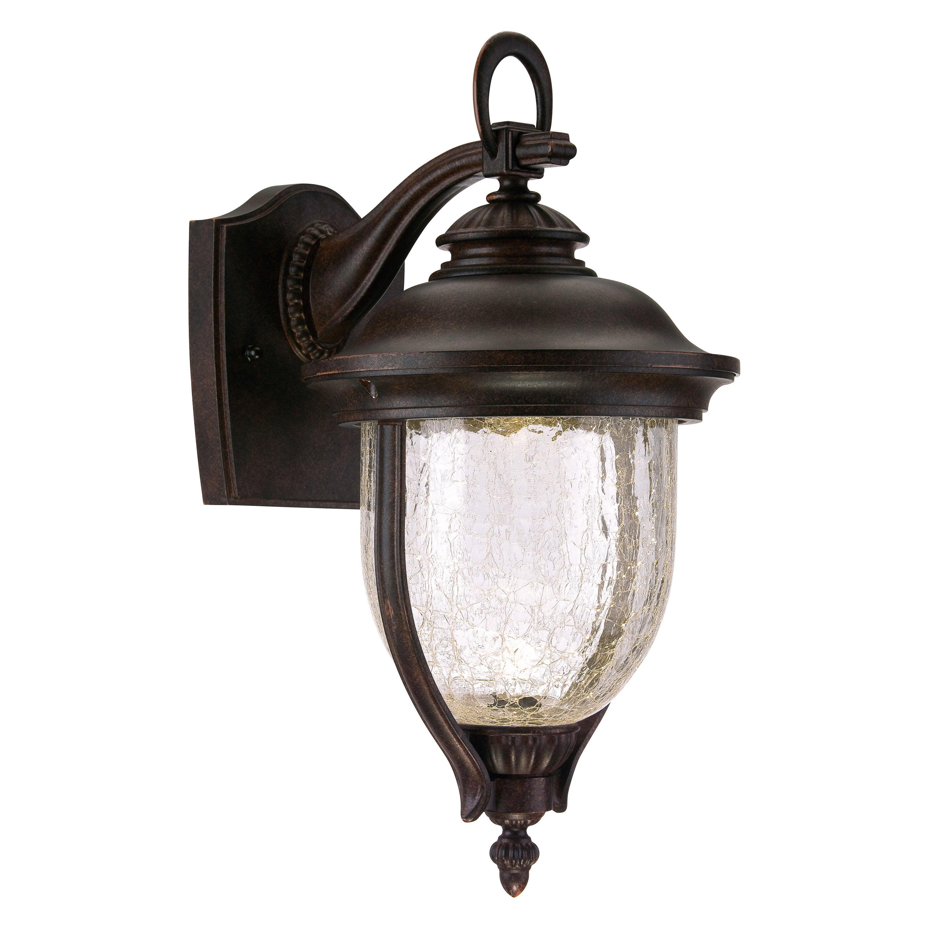 Designers Fountain Outdoor Sheffield LED22121 Wall Lantern - Mystic Bronze