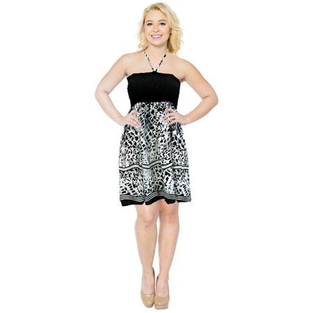 3b4d55ce1e LA LEELA - Cover up Womens Maxi Skirt Swimwear Beach wear Swimsuit Tube Top  Halter Neck - Walmart.com