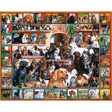 White Mountain Puzzles World of Dogs