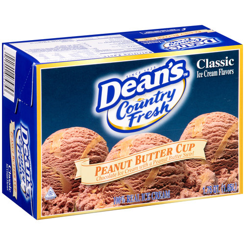 Dean's Country Fresh Peanut Butter Cup Ice Cream, 1.75 qt
