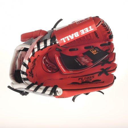 Louisville Infield Glove - Rawlings® Tee Ball Red Glove 10 in.