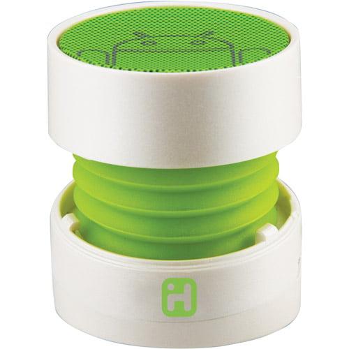 iHome IC68W Rechargeable Mini Speaker, White
