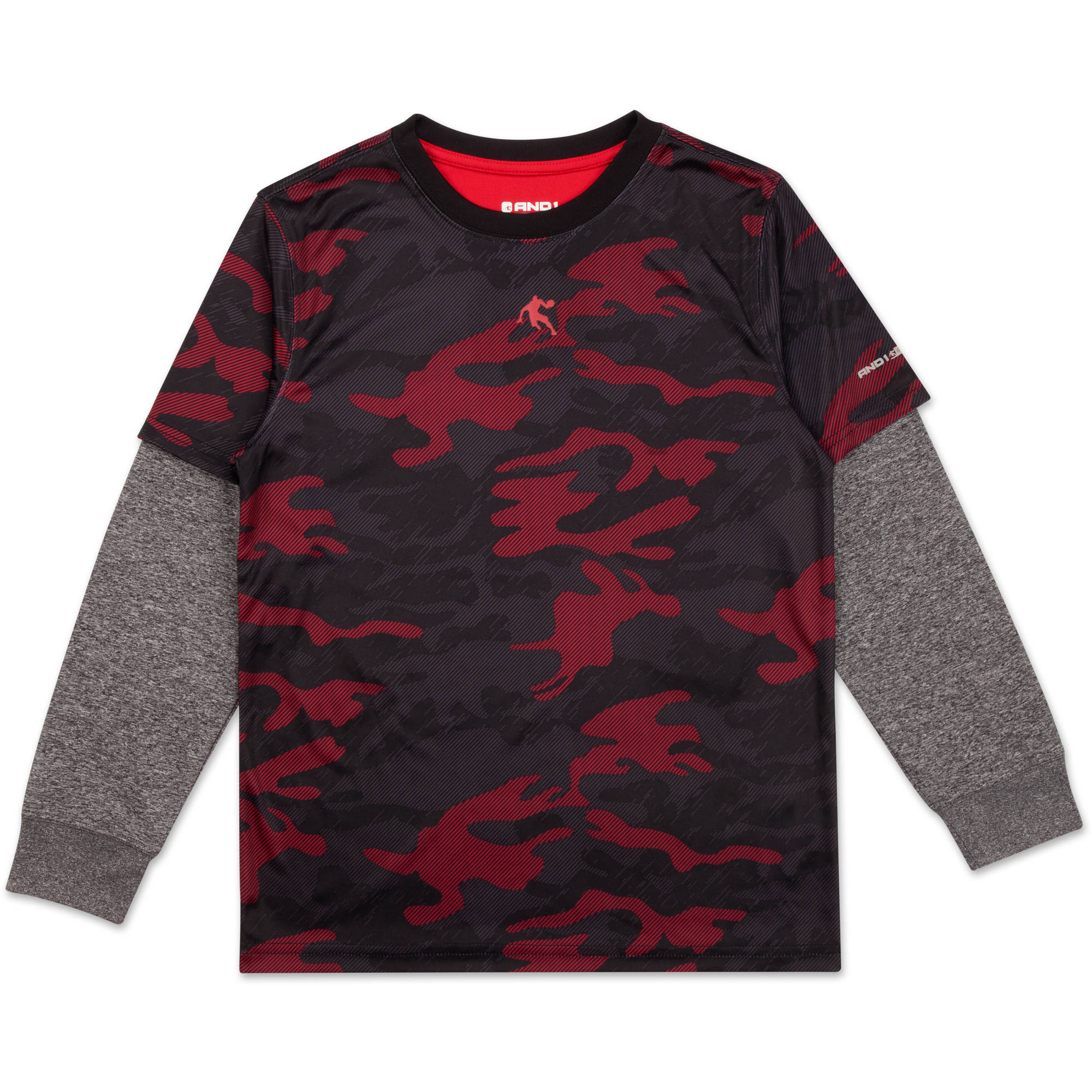 AND1 Boys Player Long Sleeve Top