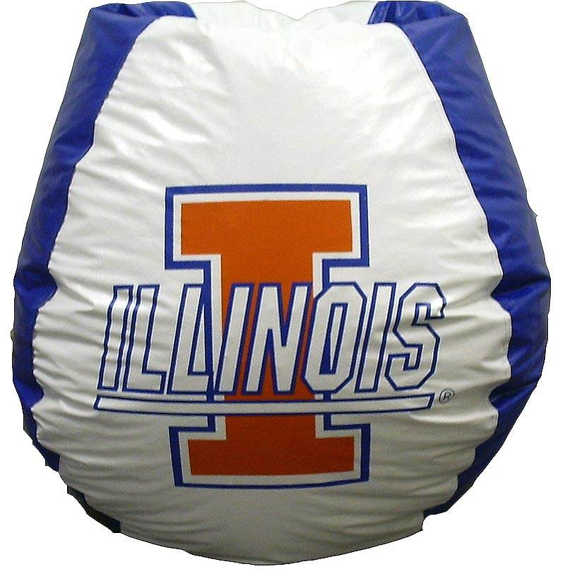 Illinois Fighting Illini Bean Bag