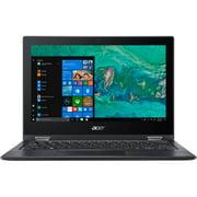 "Acer Aspire 1 A114-32-P7E5 14"" LCD Notebook - Intel Pentium Silver N5000 Quad-core (4 Core) 1.10 GHz - 4 GB DDR4 SDRAM - 64 GB Flash Memory - Windows 10 64-bit - 1366 x 768 - Obsidian Black - Int"