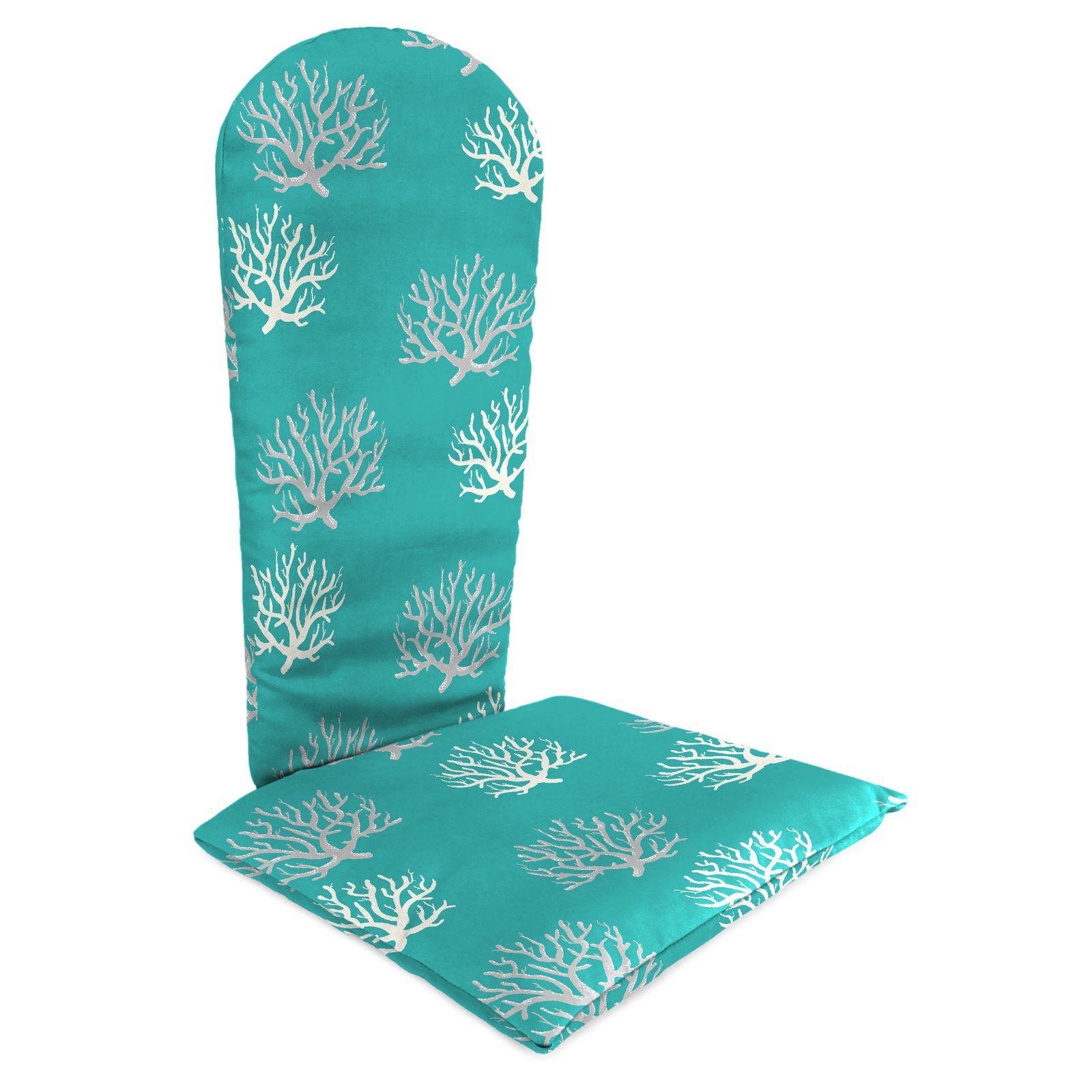 Jordan Manufacturing Knife Edge Outdoor Adirondack Chair Cushion - Isadella Ocean
