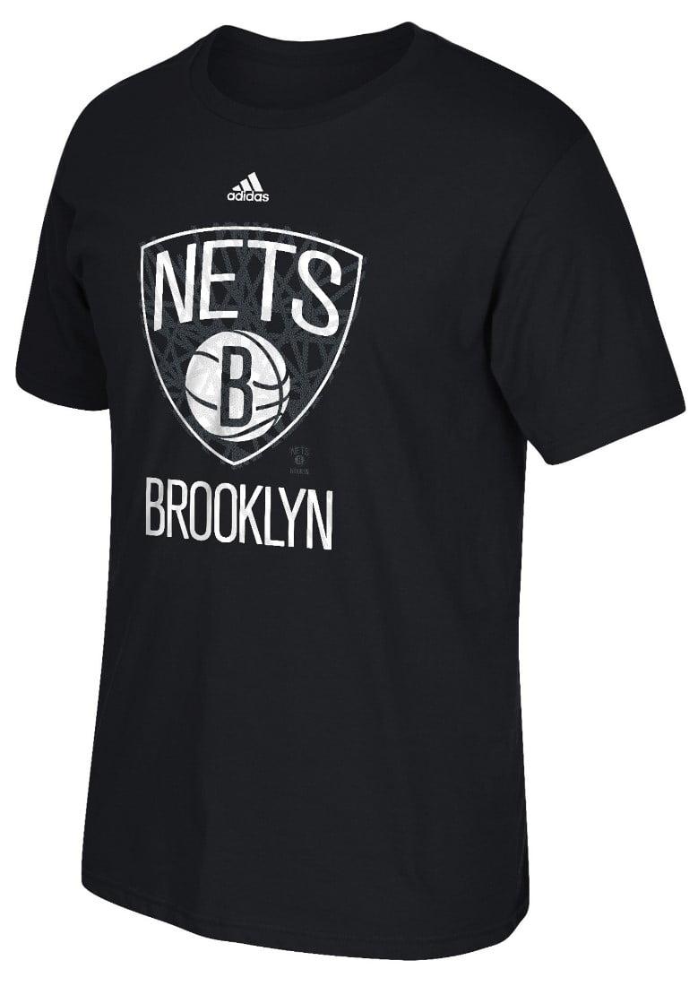 "Brooklyn Nets Adidas NBA ""Cut The Net"" Premium Print S S Men's T-Shirt by Adidas"