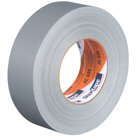 Shurtape PC-609 Industrial Grade Cloth Duct Tape: 2 in. x 60 yds. (Silver)