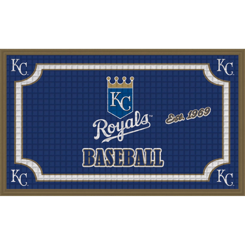 Kansas City Royals Embossed Door Mat - No Size