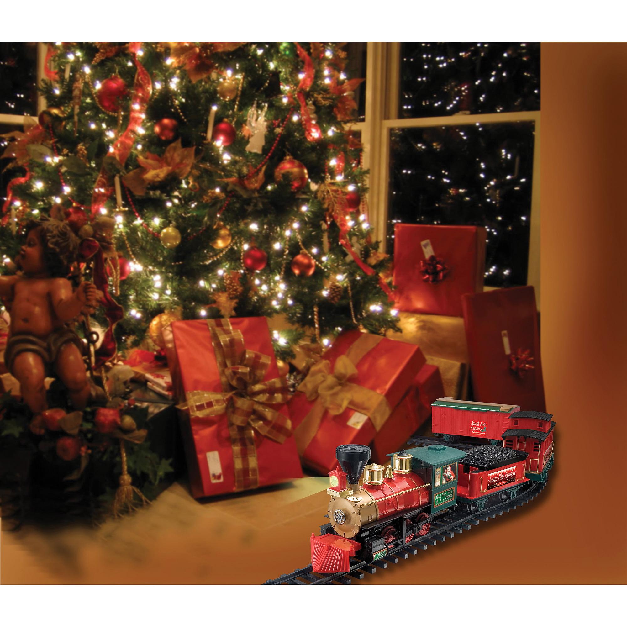 North Pole Express Christmas Train Set, 27 pc - Walmart.com