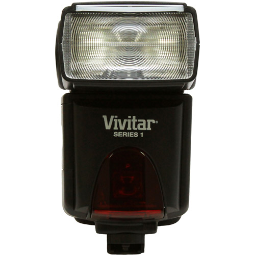 Vivitar DF383 Digital TTL Shoe Mount Power Zoom /Swivel /Bounce Auto-Focus Flash for Sony TTL, Guide Number 45m (147')