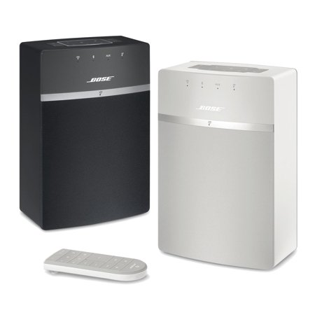 Bose SoundTouch 10 Bundle (Black/White) 2-Room Wi-Fi Music (Cost Of Bose Wave Music System Iii)