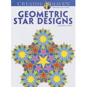 Creative Haven Coloring Books: Geometric Star Designs Coloring Book (Paperback)