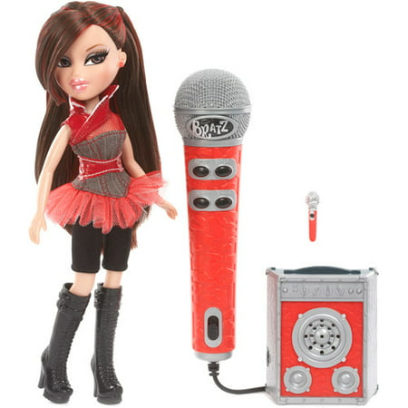 - Bratz On The Mic Jade Doll Sing Along with Working Microphone & Speaker