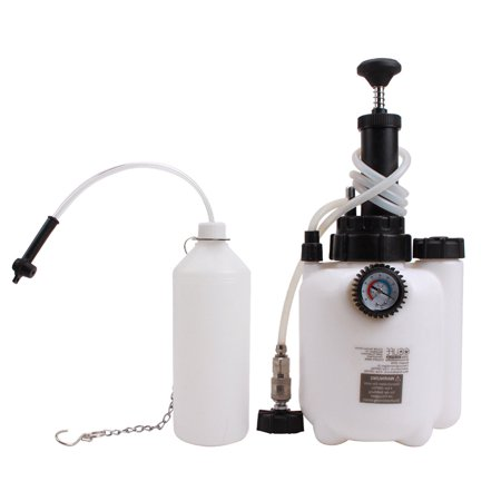 Change Machine, 3L Manual Compression Brake Oil Changer Manual Brake Oil Replacement Tool Brake Fluid Refiller