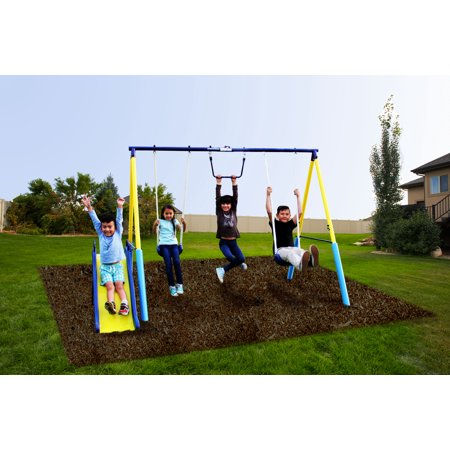 Sportspower Fun Outdoor My First Metal Swing Set ()