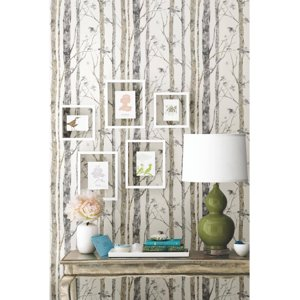 RoomMates Birch Trees Peel and Stick Wall Décor Wallpaper