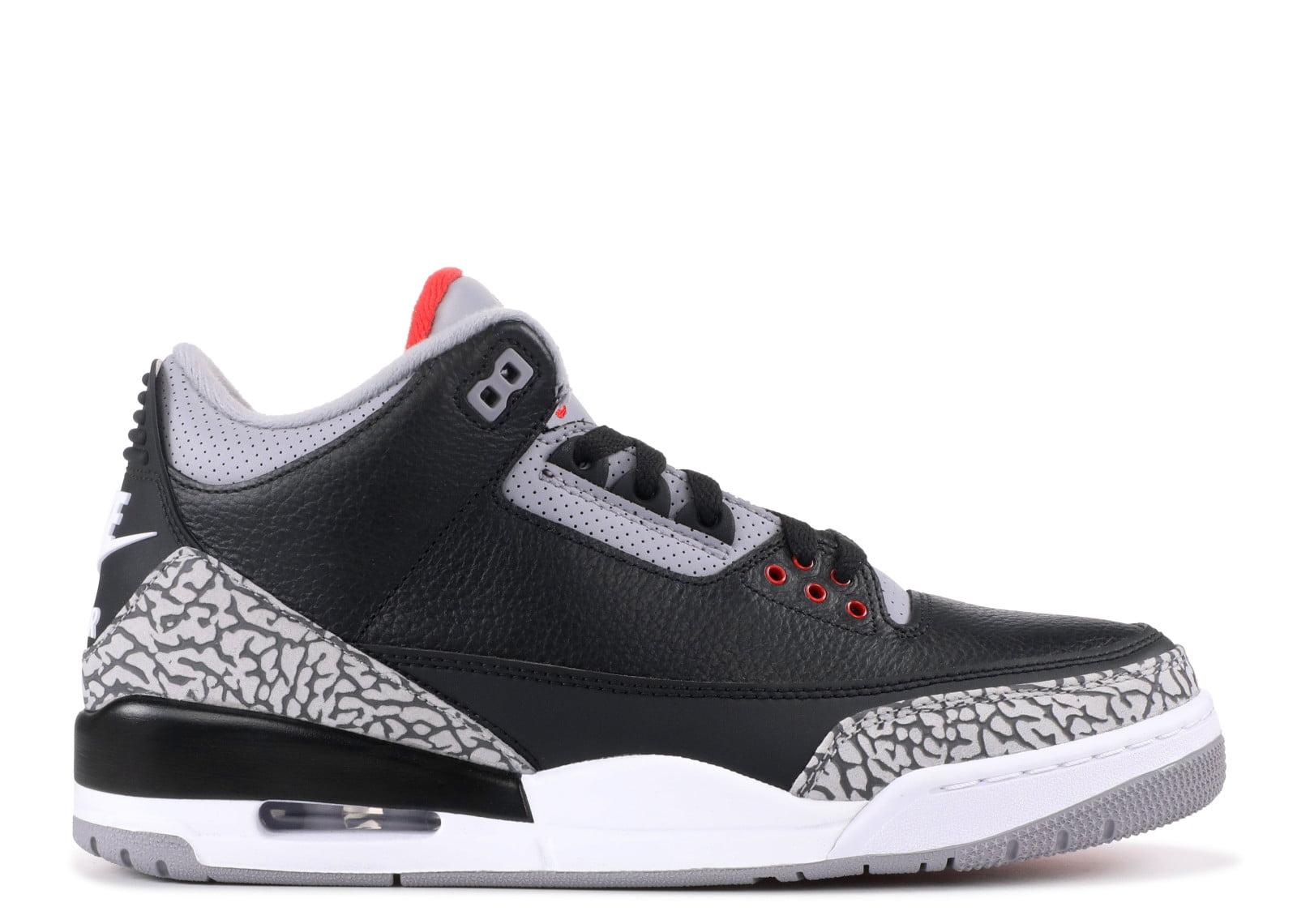 87ddbe49288735 Air Jordan - Men - Air Jordan 3 Og Retro Og  Black Cement 2018  -  854262-001 - Size 14