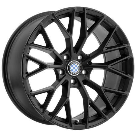 - Beyern Antler 18x8.5 5x120 +40mm Double Black Wheel Rim