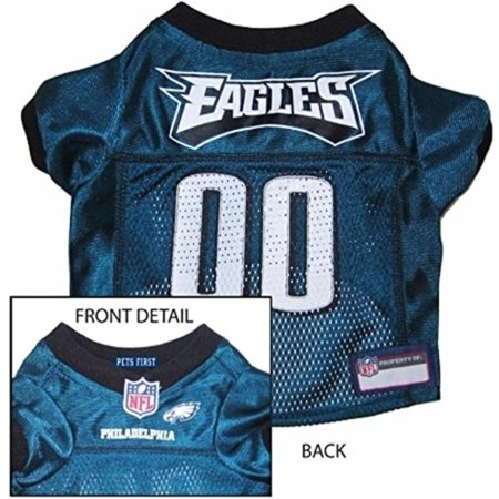 80c4424e PHILADELPHIA EAGLES Dog Mesh Jersey ALL SIZES Licensed NFL (Medium),  Measure the length of your dogs back to determine size By Pets First