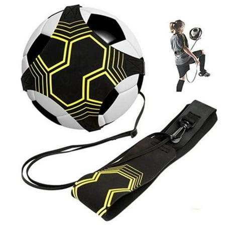 Football Kick Trainer Control Skills Solo Soccer Training Aid Waist Belt (Kick Trainer)