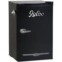 Igloo 3.2 Cu Ft Retro Bar Fridge With Side Bottle Opener