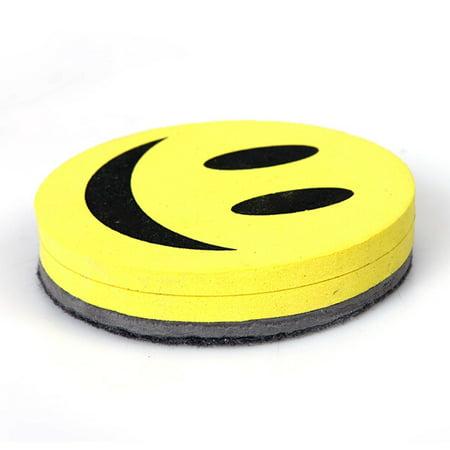 Magnetic Blackboard Whiteboard Eraser Wipe Dry Marker Cleaner School SmileFace  - image 3 of 5