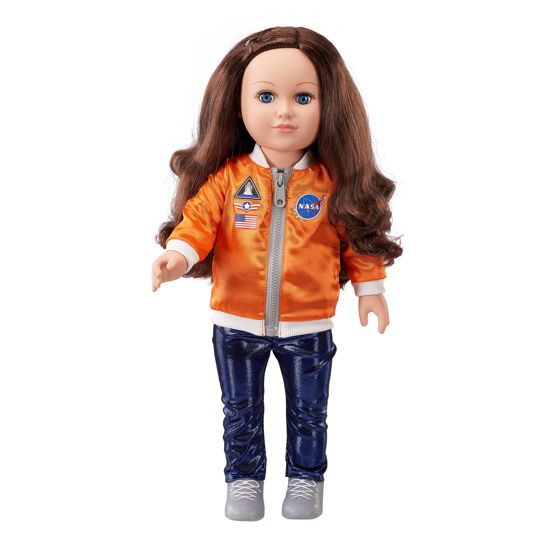 "My Life As 18"" Space Engineer Doll, Brunette Hair"