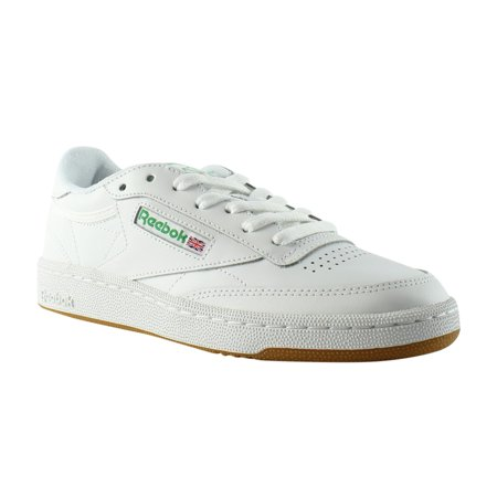 886bd4c5014 Reebok - Reebok Club C 85 White Green Gum Athletic Sneaker Womens Athletic  Shoes Size 6.5 New - Walmart.com