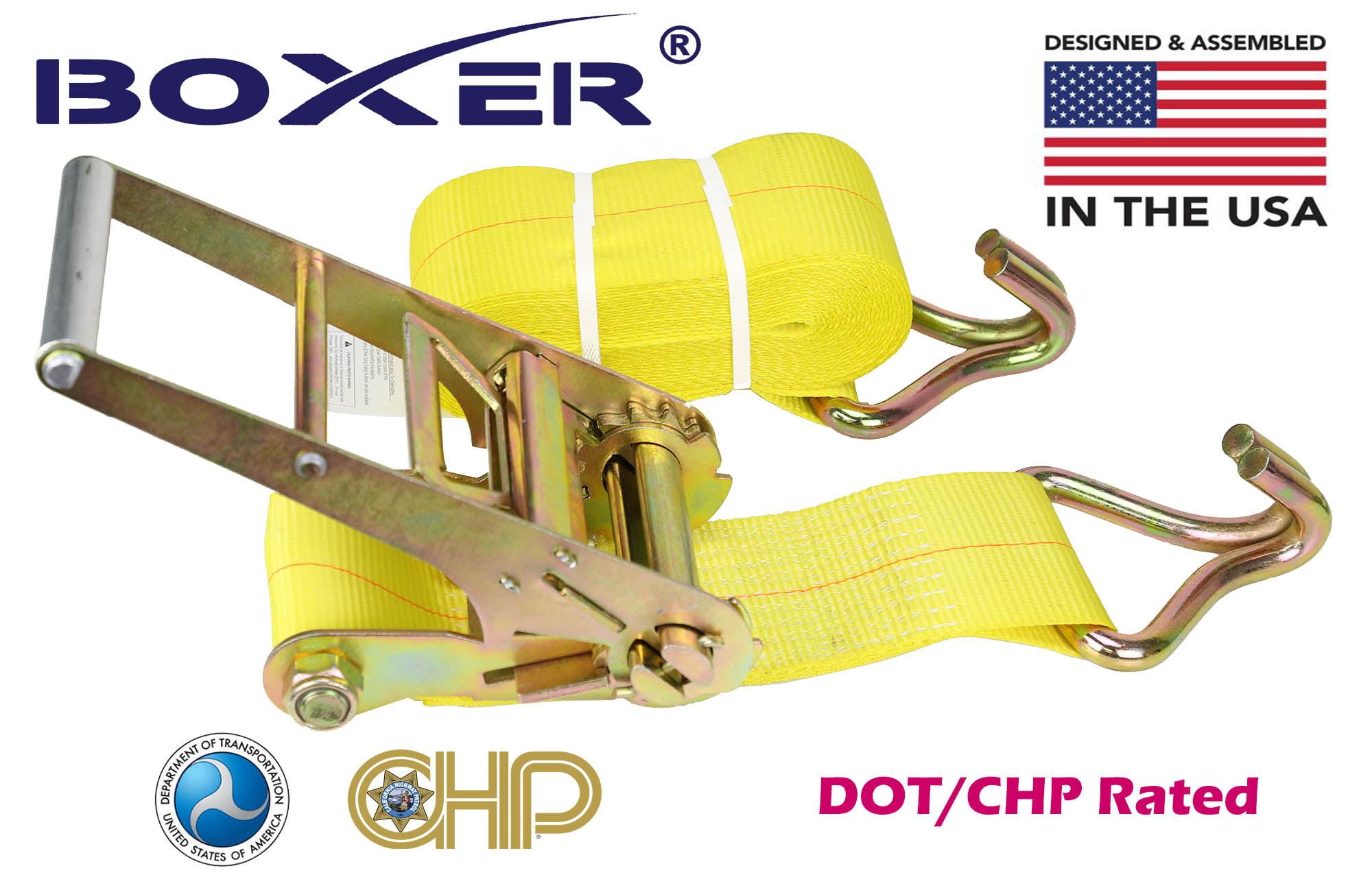 American Industrial 5,400 Lbs 16,200 Break Strength 3 X 27 Winch Strap W// Wire Hook Load Capacity