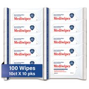 Refreshing 100 Wipes Wet Wipes Cleansing Cloth | Alcohol-Free Wipes | Hypoallergenic (10 wipes /each)
