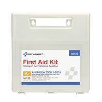 First Aid Only 183 Piece Plastic First Aid Kit, ANSI Compliant