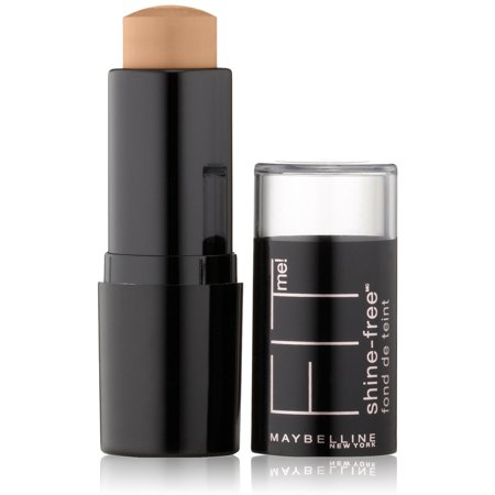 Maybelline New York Fit Me! Shine Free Stick Foundation, Buff Beige [130] 0.32 oz (Pack of 2)