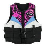 Rave Sport Women's Neo Life Vest, Medium, Black
