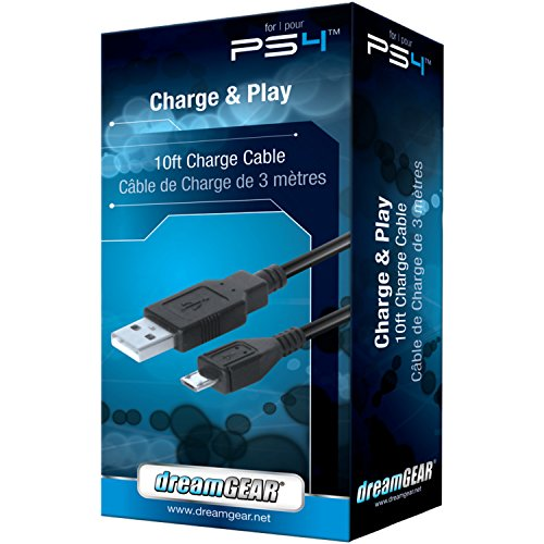 dreamGEAR Playstation 4 Charge and Play