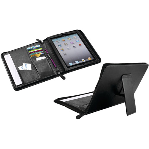 iLuv Icc839Blk CEOFolio Case for New iPad, Black