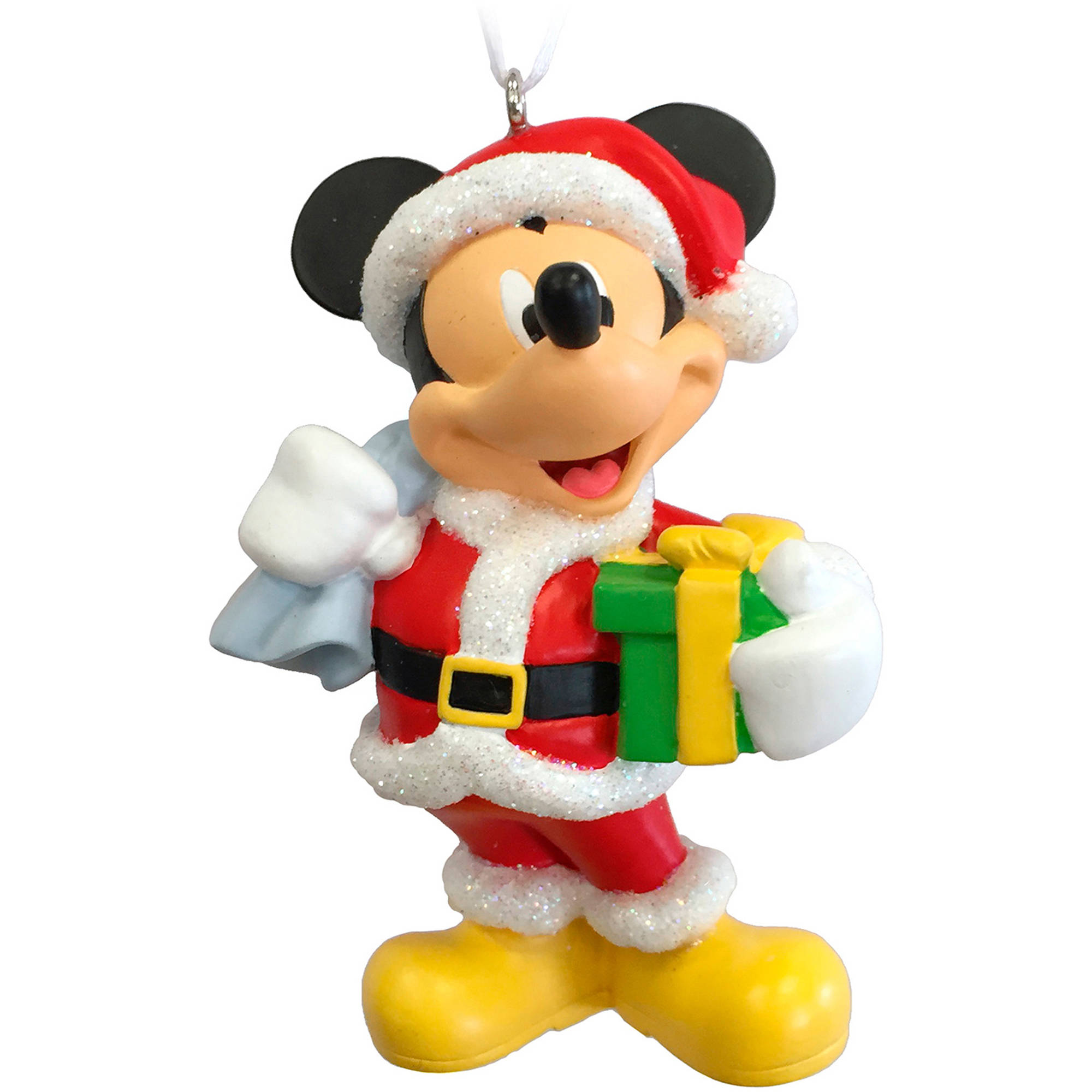 Hallmark Disney Mickey Mouse as Santa Claus Ornament